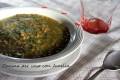 Minestra lenticchie e spinaci