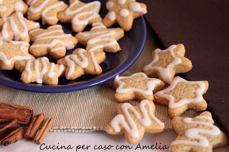 Biscotti di Natale, le stelle pan di zenzero