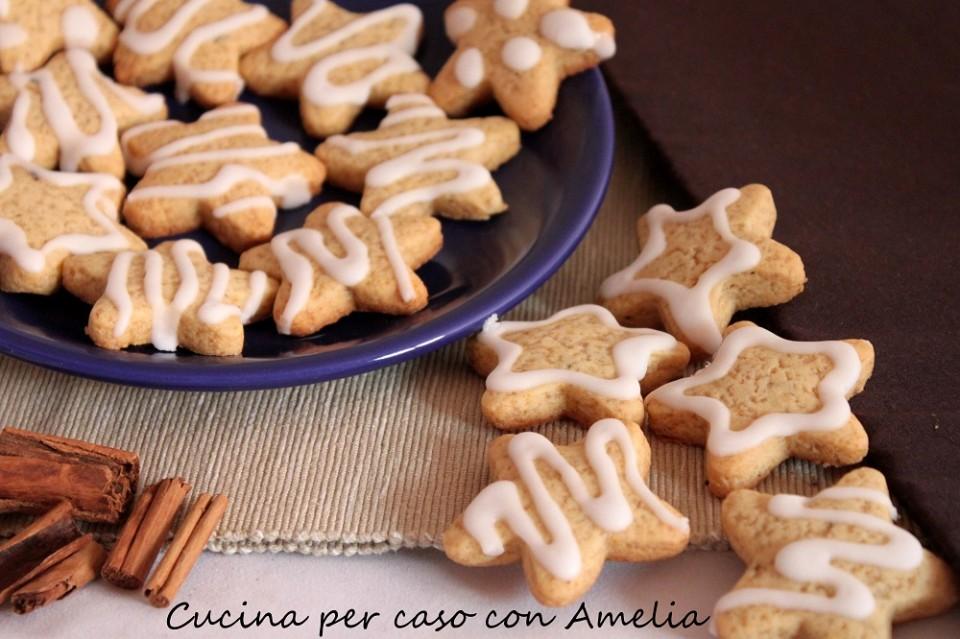 Biscotti di Natale, stelle pan di zenzero / Cucina per caso con Amelia