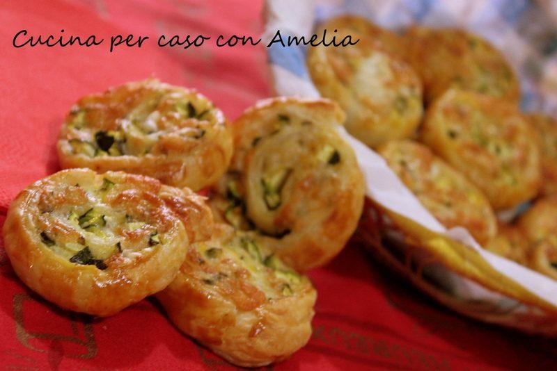 Girelle di zucchine e formaggio