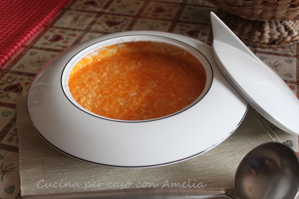 Risotto rosso con peperone / Cucina per caso con Amelia