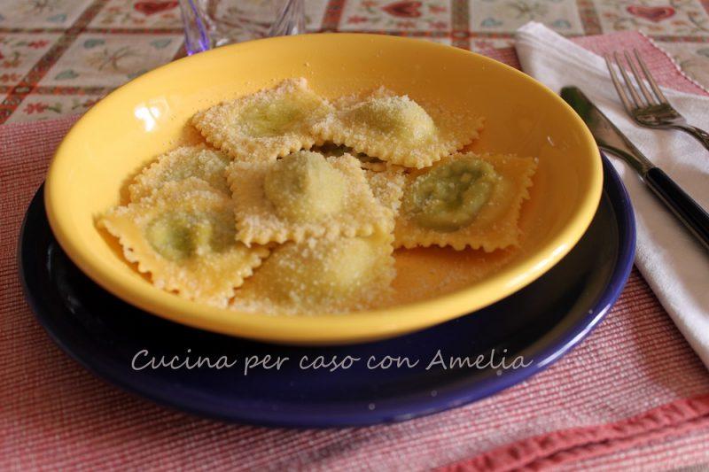 Ravioli ricotta e spinaci, ricetta