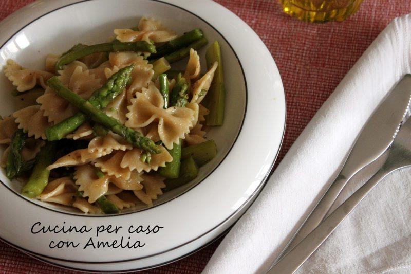 Pasta con asparagi, ricetta