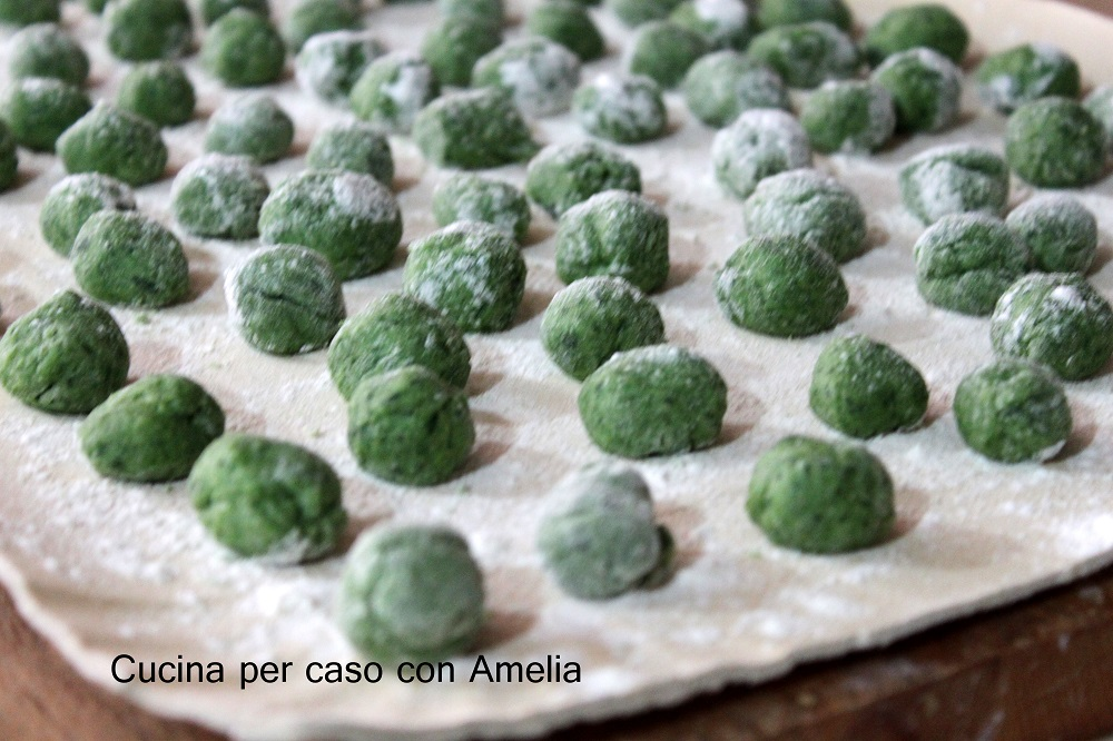 Ricetta Gnocchi Di Spinaci E Ricotta Bimby.Gnocchi Patate E Spinaci Bimby Cucina Per Caso Con Amelia