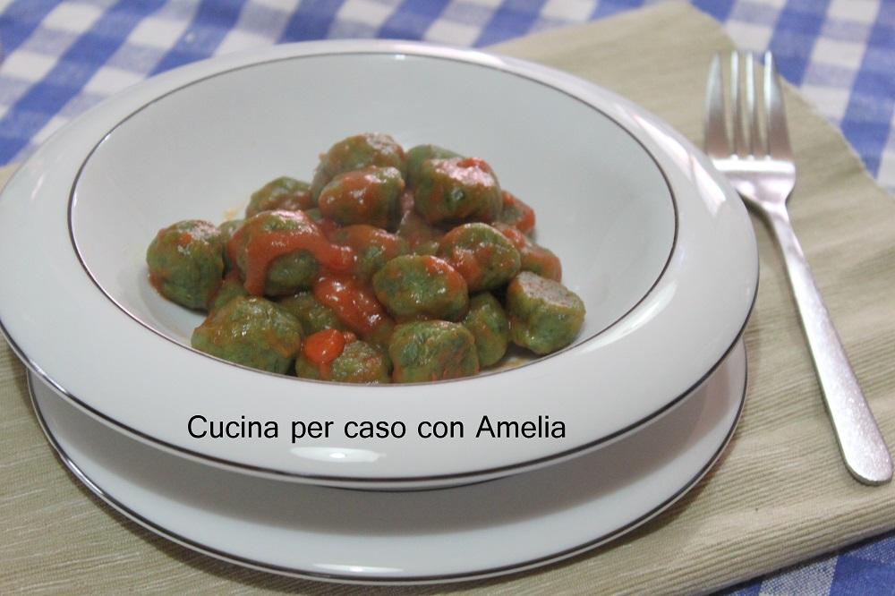 Gnocchi patate e spinaci bimby – Cucina per caso con Amelia