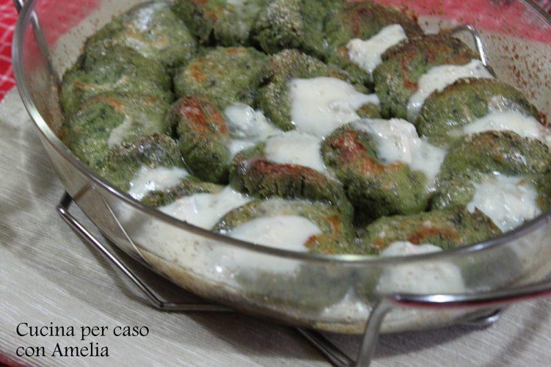 Gnocchi alla romana con spinaci bimby
