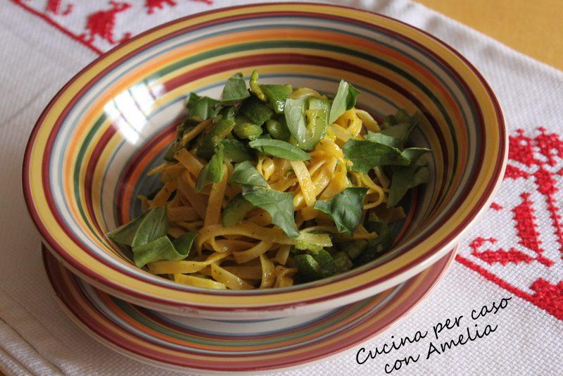 Carbonara di zucchine, ricetta