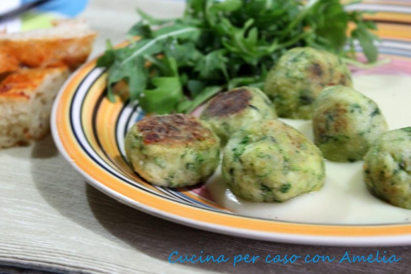 Polpette di zucchine, ricetta
