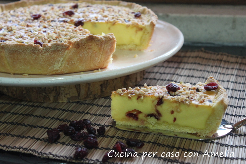 Torta ricotta e mirtilli bimby