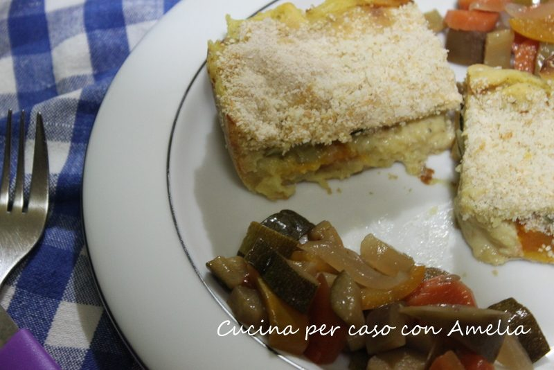 Tortino di patate vegetariano