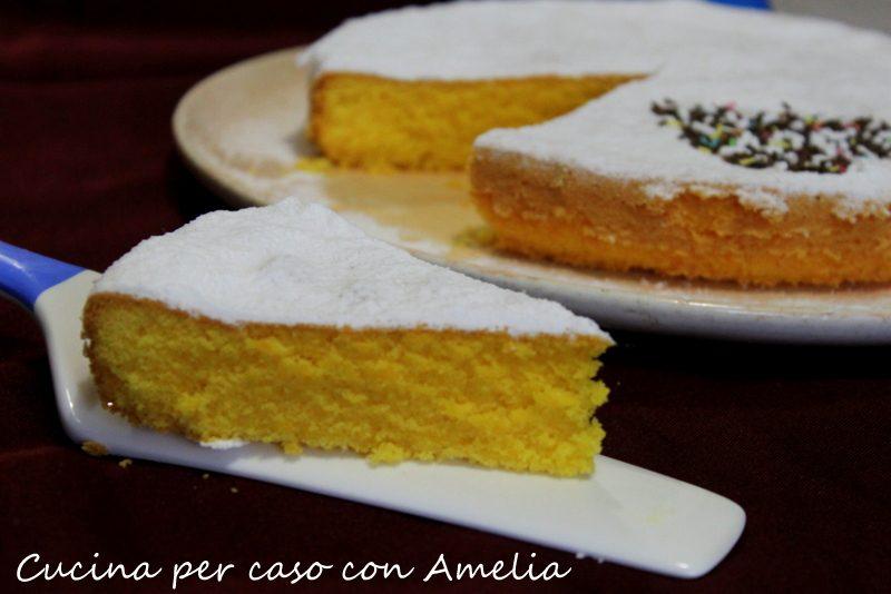 Torta paradiso ricetta lombarda