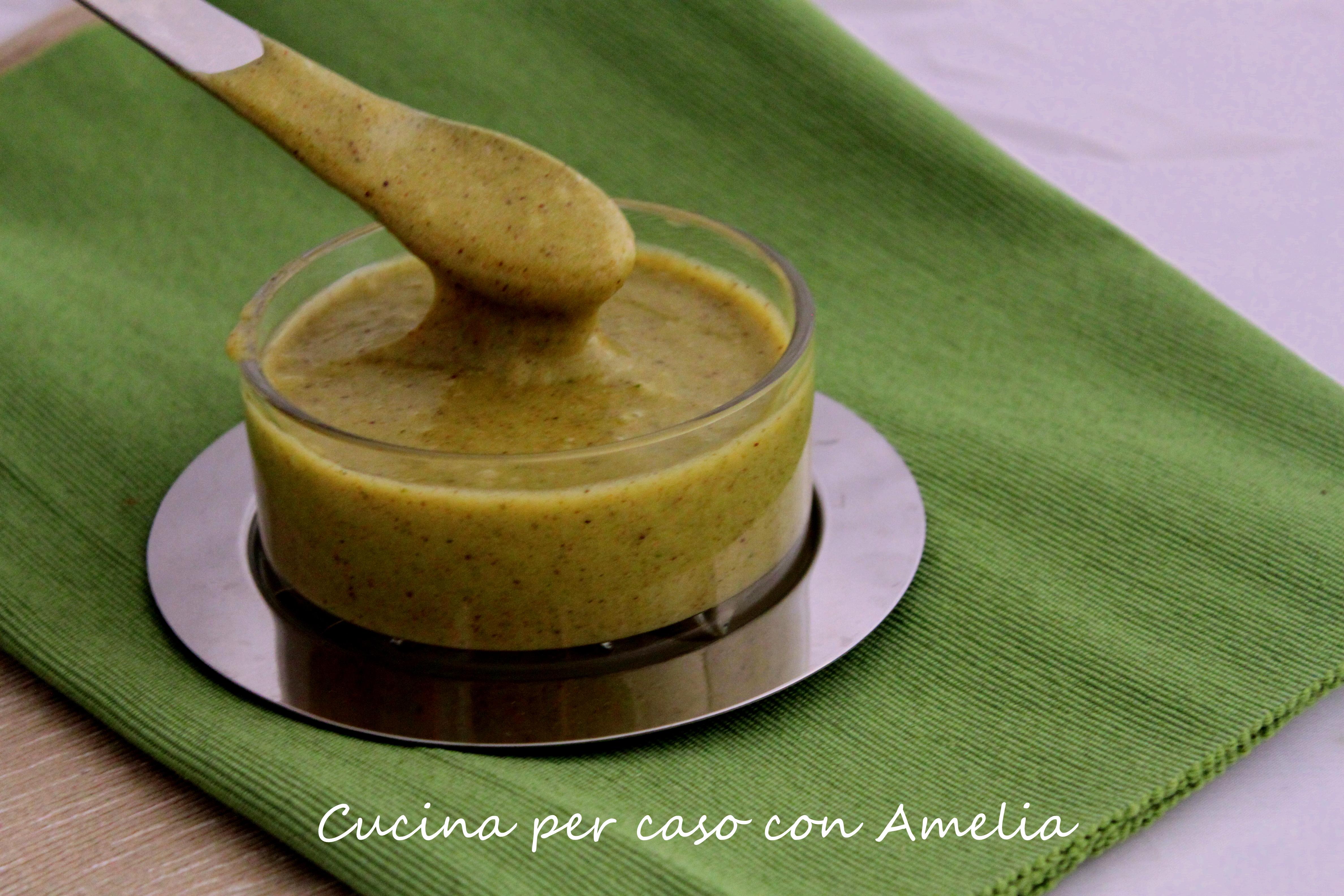 Crema di pistacchi vegan