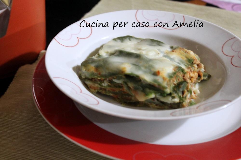 Lasagne verdi bimby / cucina per caso con Amelia