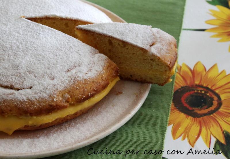 Torta soffice al limone, ricetta bimby