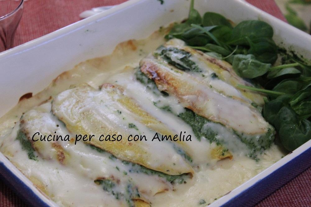 Crespelle ricotta spinaci, ricetta - Cucina per caso con Amelia