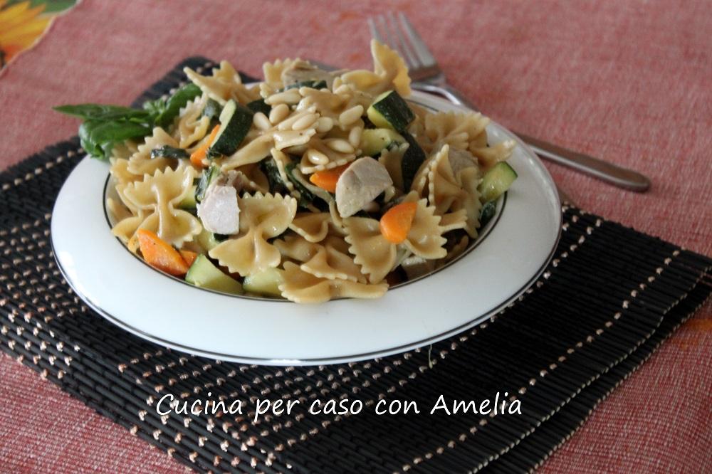 Pasta al sugo di tonno fresco / Cucina per caso con Amelia