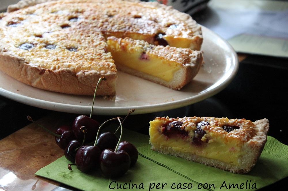 Crostata alle ciliegie, ricetta - Cucina per caso con Amelia
