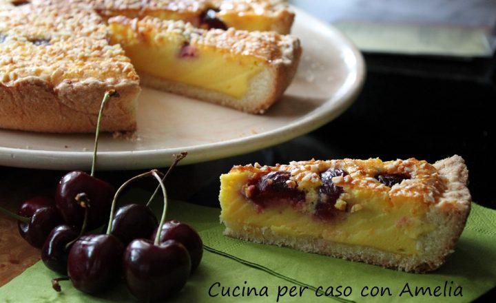 Crostata alle ciliegie, ricetta