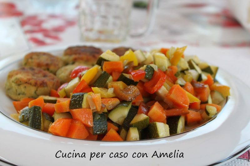 Ratatouille di verdure, ricetta