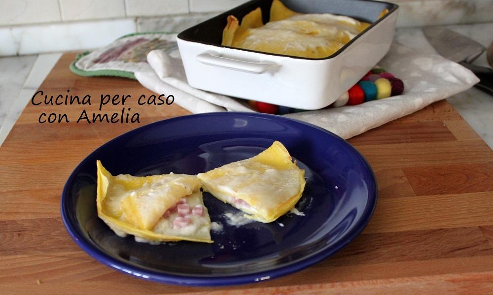 Crespelle al prosciutto e formaggio/Cucina per caso con Amelia
