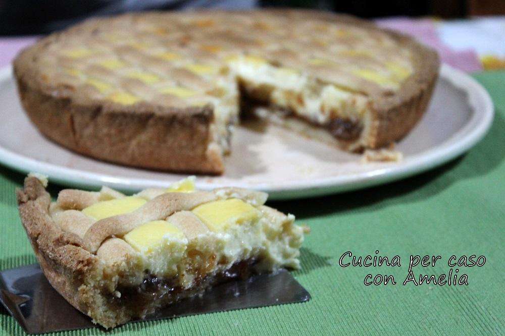 crostata ricotta e marmellata bimby   Cucina per caso con Amelia