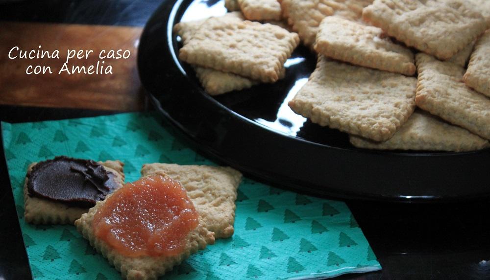 Biscotti Secchi Home Made Ricetta Cucina Per Caso Con Amelia