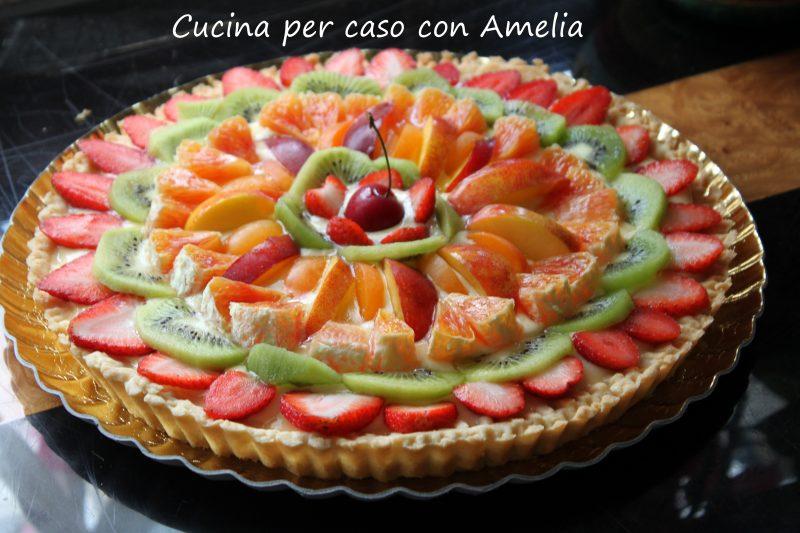 Crostata di frutta fresca, ricetta