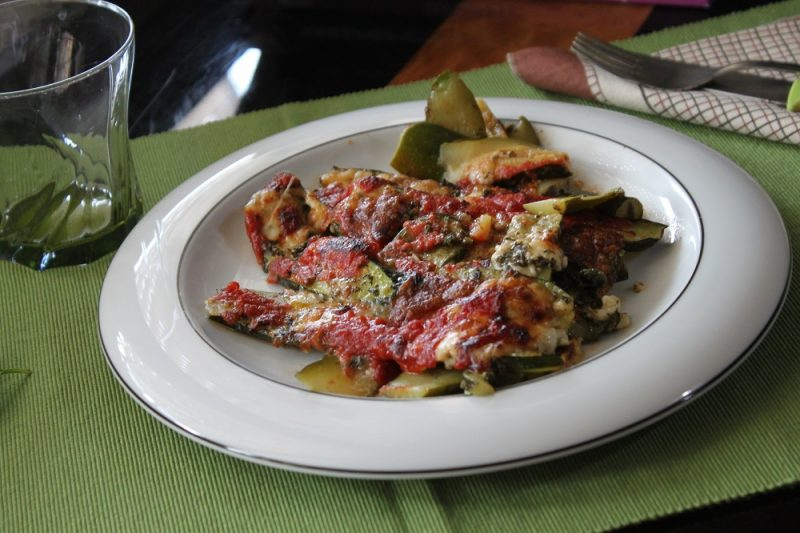 Zucchine al forno, ricetta