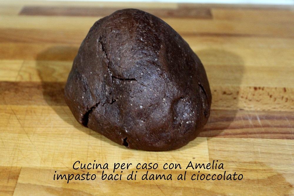 Baci di dama al cioccolato con e senza bimby/Cucina per caso con Amelia