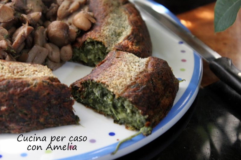 Flan di spinaci, ricetta con e senza bimby
