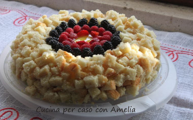 Cheesecake mimosa, ricetta dolce