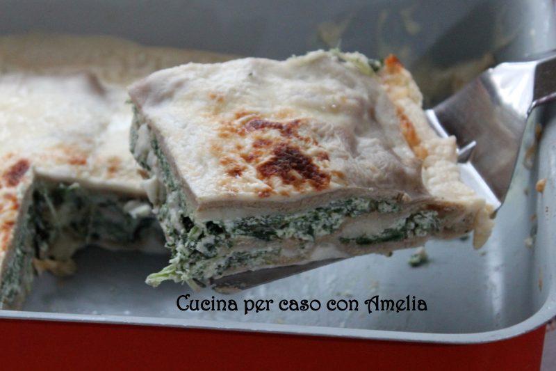 Lasagne ricotta spinacci, ricetta primo piatto