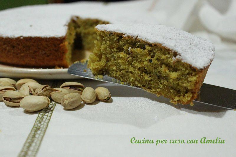 Torta soffice al pistacchio