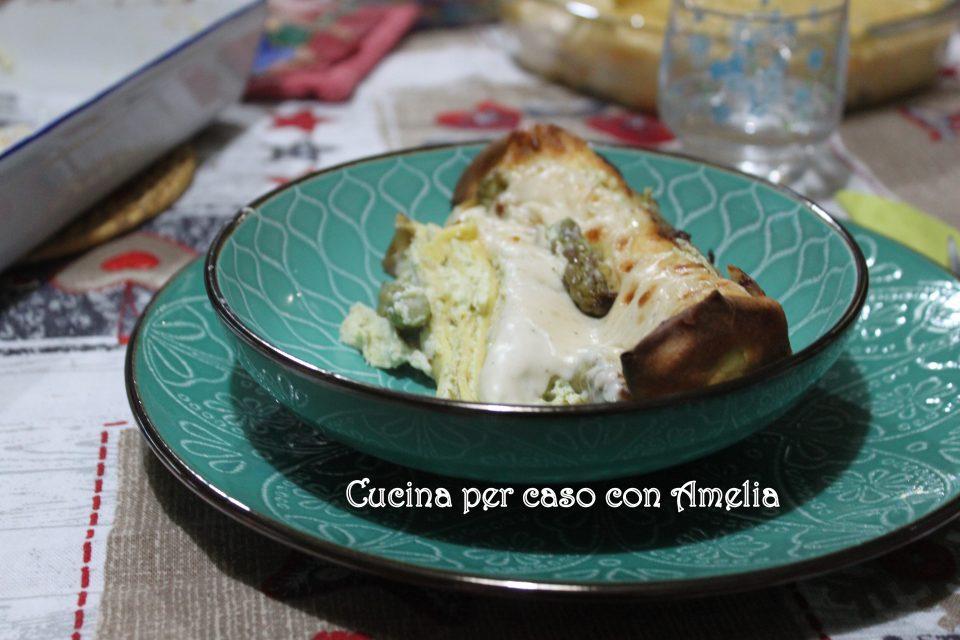 Crespelle ricotta e asparagi, ricetta / Cucina per caso con Amelia