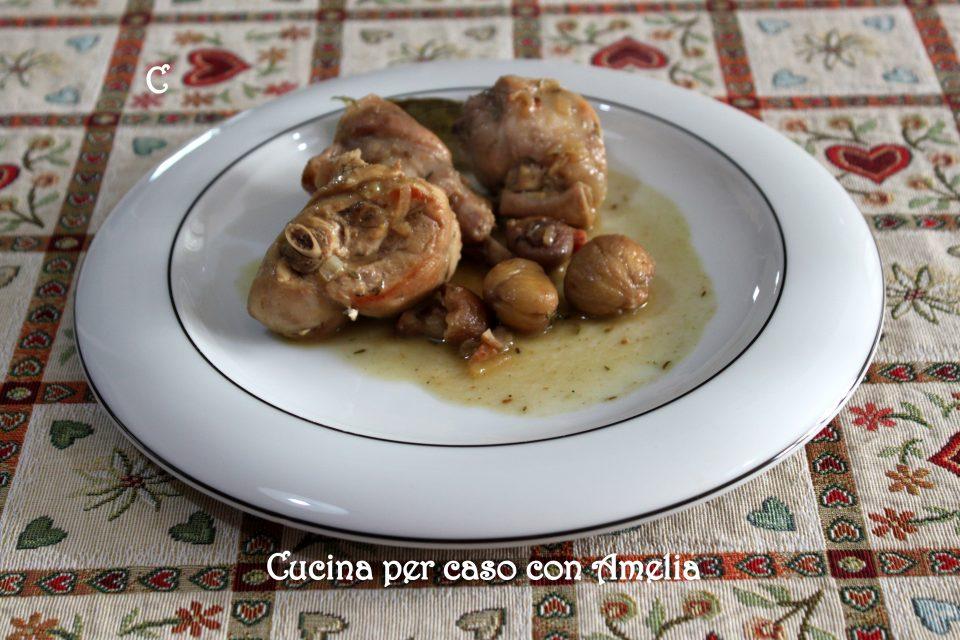 Coniglio alle castagne, ricetta piemontese / Cucina per caso con Amelia