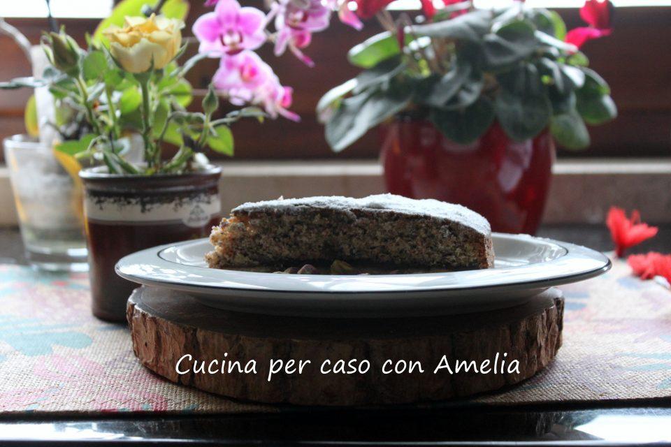 Torta due strati nocciolata e pistacchi / Cucina per caso con Ameli