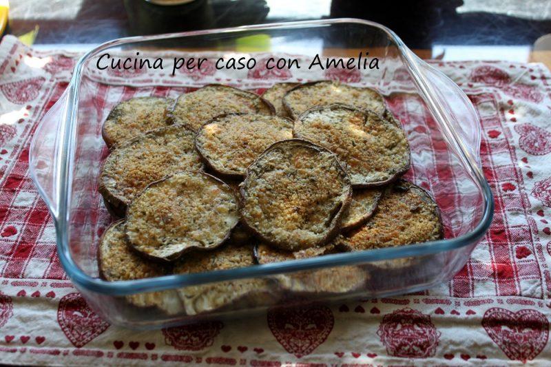 Melanzane gratinate al forno, ricetta