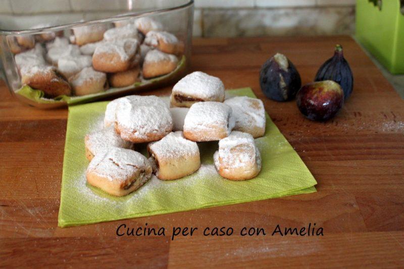 Biscottini ai fichi, ricetta dolce