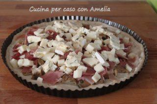Torta salata porcini crudo / Cucina per caso con Amelia