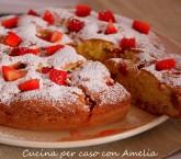 Torta soffice di fragole, ricetta