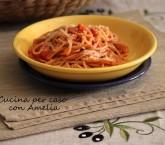 Spaghetti all'amatriciana bimby