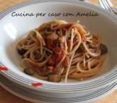 Spaghetti al sugo di melanzane