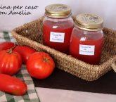 Passata di pomodoro, ricetta base