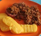 Lenticchie e salame cotto, ricetta tipica