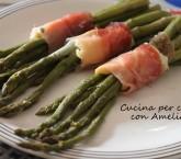 Asparagi con speck e scamorza, ricetta