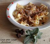 Pasta con gli amaretti, ricetta tipica | Cucina per caso con Amelia