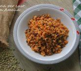Cous cous con lenticchie, ricetta