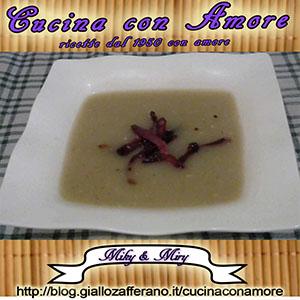 Zuppa di patate e speck