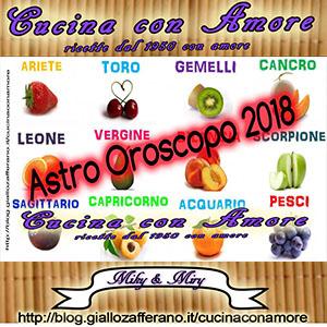 Astro Oroscopo 2018