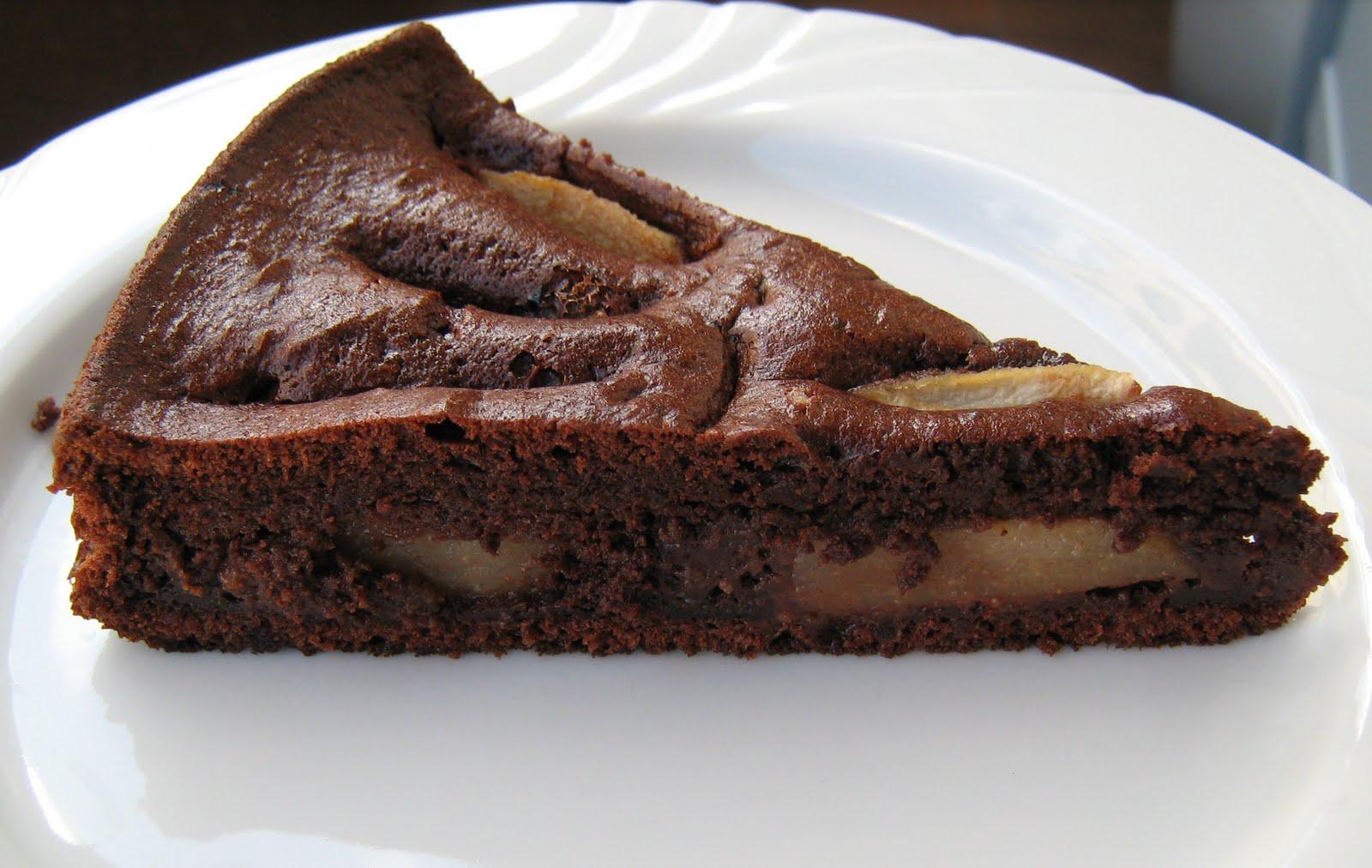 Ricetta di torta con cioccolato e pere